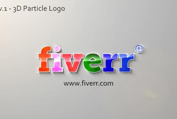create Clean Logo Animation HD Intro video