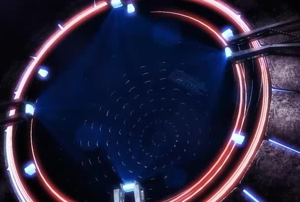 make an Amazing Holographic 3D Logo Intro In HD