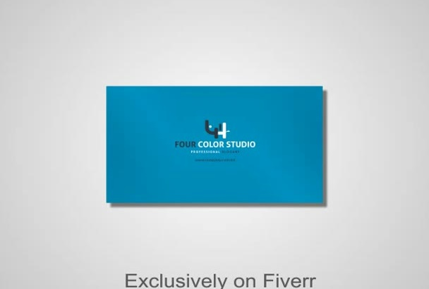 create a Creative Professional Business card