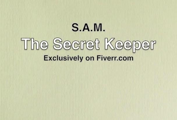 keep your secret or confessions safe