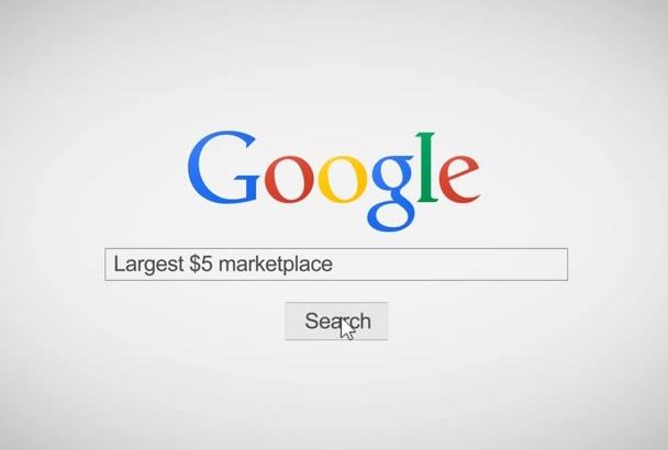 make Special Google Search Video Intro