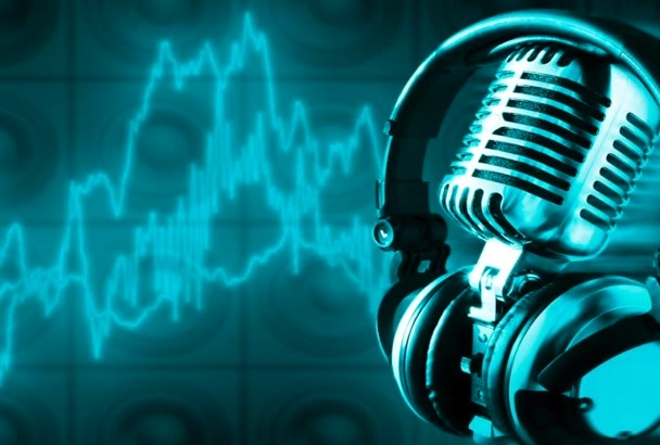 record your PROFESSIONAL French voice over or audio message
