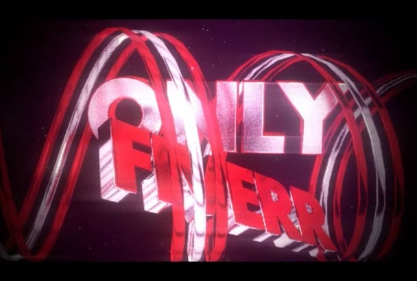 create A INSANE Red And White 3D Youtube Intro