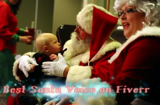 record the BEST Santa Voice on Fiverr
