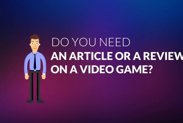 write about any video game for you within 750 words