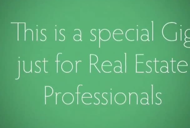 send you Real Estate Promotional Graphics