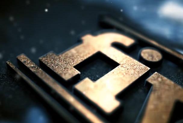 create logo opener video
