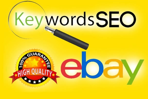 give eBay SEO keyword for listing title ad copy guide