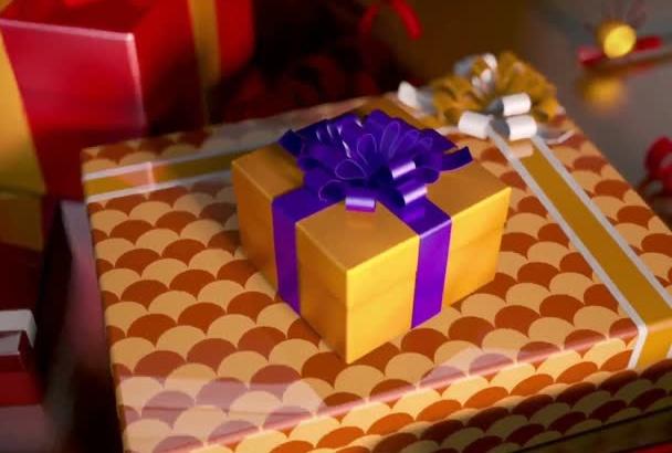 create Amazing Happy birthday cake video HD