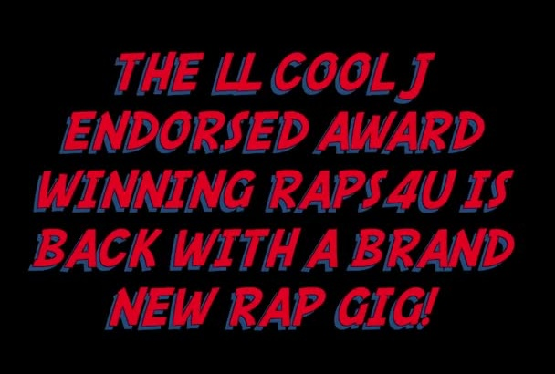 create you a Pro Bespoke Rap