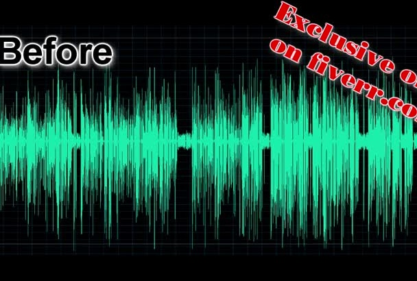 clean and improve your audio recording