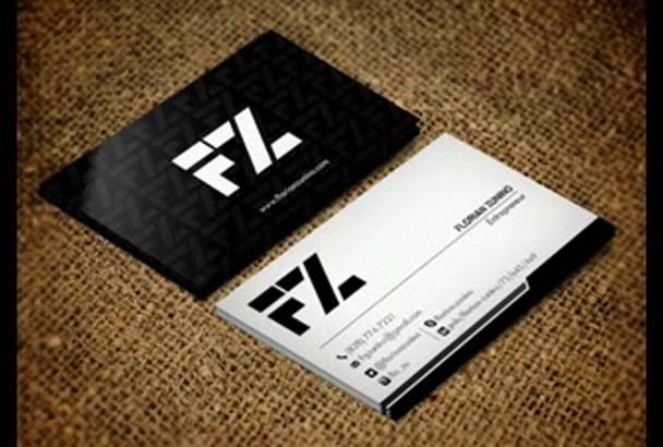 create Professional Business Card