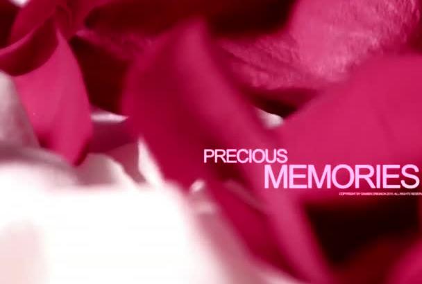 make a romantic Video Photo Album