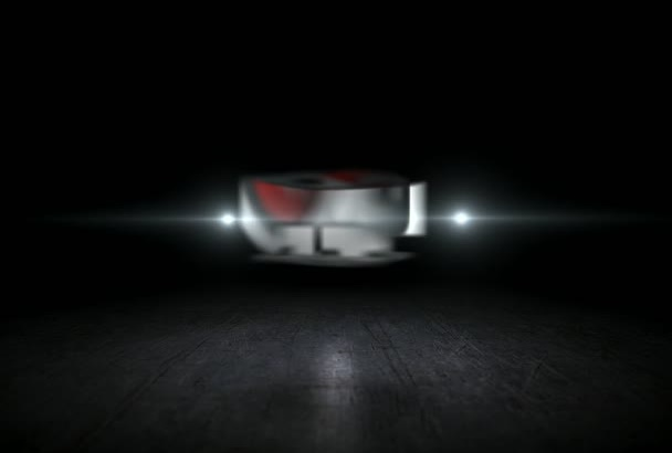 create fast spin 3D logo video intro