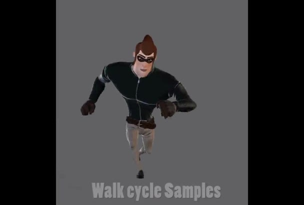 create Professional animation for your character