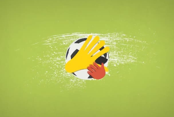 create this World Cup special logo reveal animation