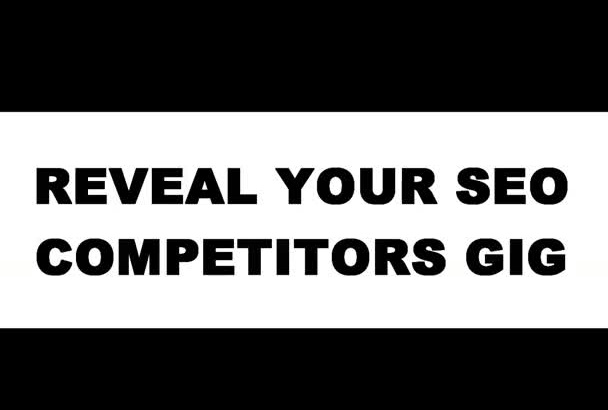 help You And Find Your SEO Competitors Weak Points