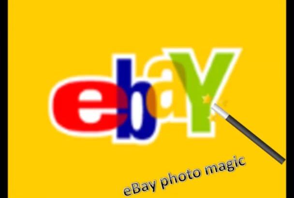 retouch your eBay or Amazon photos Magic Edit