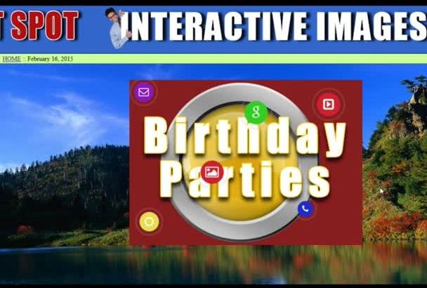 create a HOTSPOT on any image