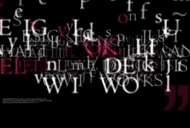 make an professional sublime typography video to promote business or website
