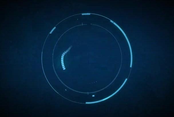 create a HiTech SciFi Logo Reveal Intro Video