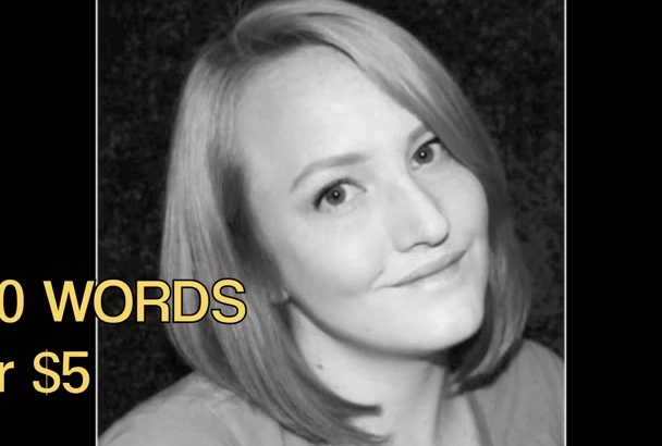 record a stellar professional female voiceover