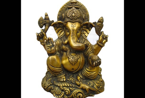 create Lord Ganesha Painting with your Name