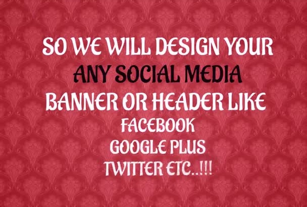 create Special Attractive facebook cover for your fan page profile or group