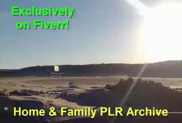 send You 8,500 Home and Family Related Articles from my PLR Archive