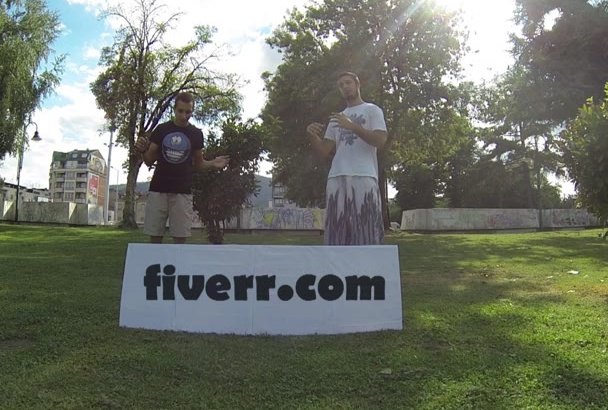 flip together with my friend and advertise your business