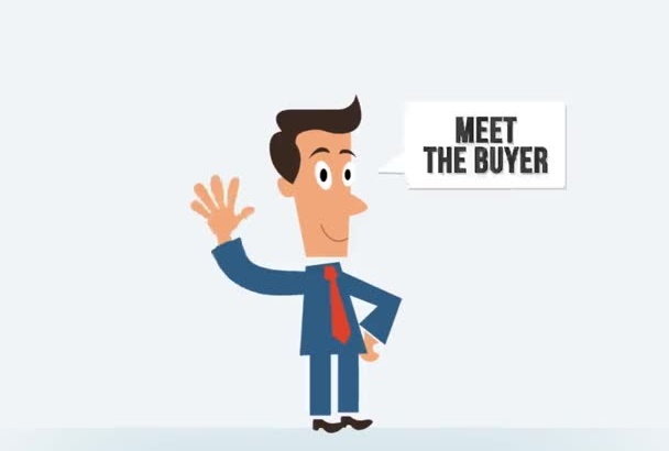 customize this Cartoon Character to Promote Business Product Service BOOK Video