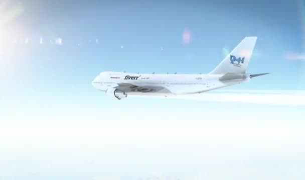 add your Logo onto a Plane video