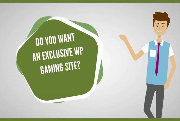 install Game MyArcade Premium WordPress Site
