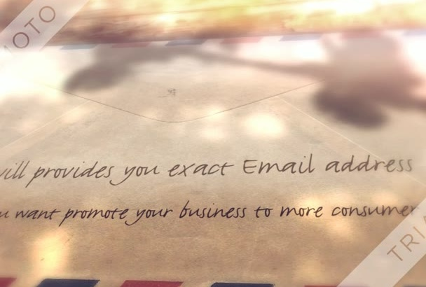 provide you exact email addresses on your given keyword