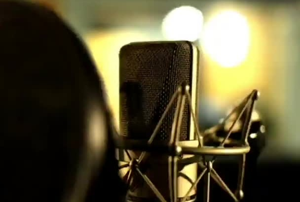 record a voice over TODAY