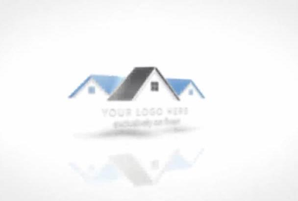 create Real Estate Agency Portfolio with Logo Intro