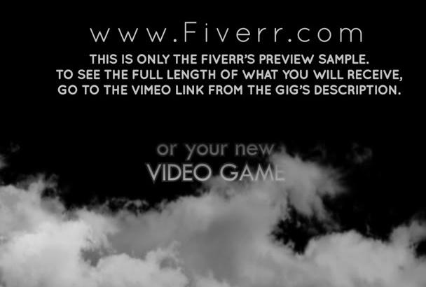 customize this epic Dark Smoke BOOK Drama Trailer