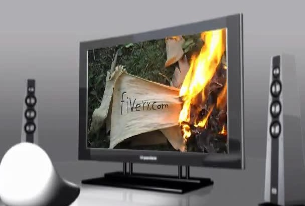 find message appear out of ashes and play it in a TELEVISION