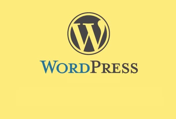 do any type of work related to wordpress