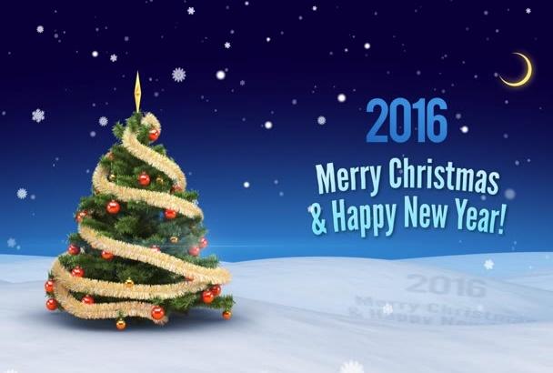 make this Christmas greeting