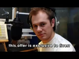 record a voiceover in my British accent