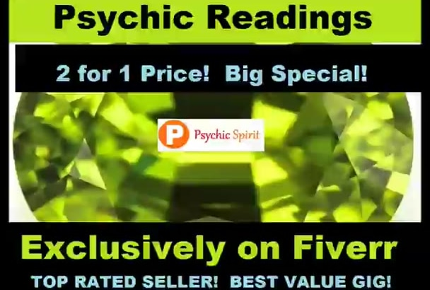 absolute 2 PSYCHIC READiNGS Wow 2 for 1 Sale AMAzING NoW OPTiON Xtra ToP SeLLeR