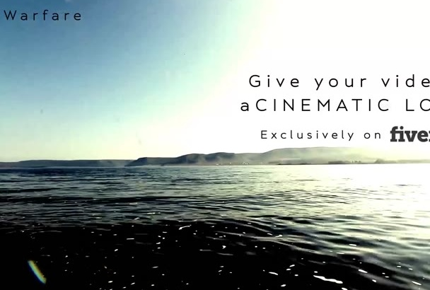 give your videos that cinematic look