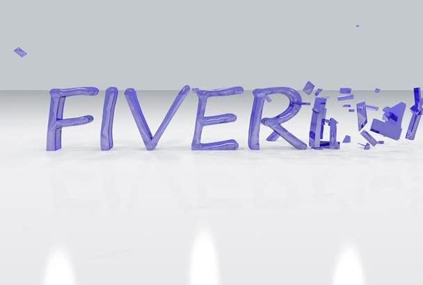 5 create Cinematic Logo intro video