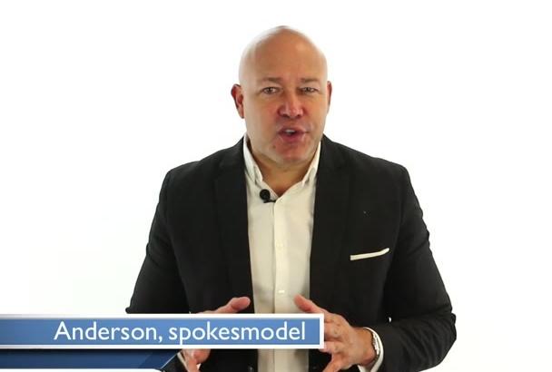 be your male HD video spokesperson spokesmodel