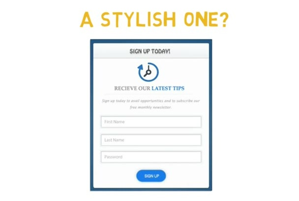 do custom php Contact or login FORM