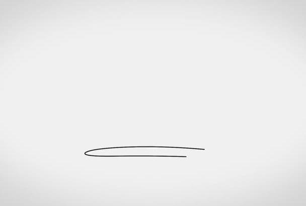 make a Stunning Sketch Logo Reveal in full HD