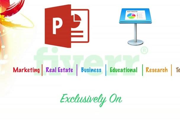design PowerPoint, Keynote and Prezi Presentation for You