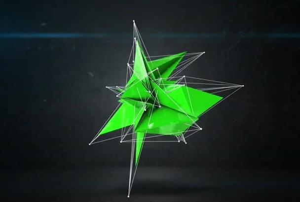 create This Super cool Polygon Intro