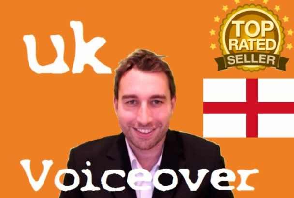 be your UK English voice